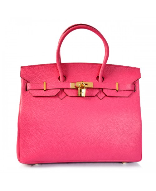 Replica Hermes 35cm Birkin Handbag Candy Collection Togo Leather with Gold Hardware-78300